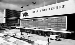 The Bull Ring Shopping Centre in 1964, which replaced the Market Hall