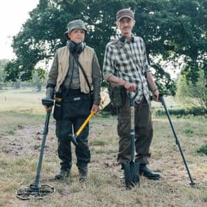 Toby Jones and Mackenzie Crook in Detectorists.