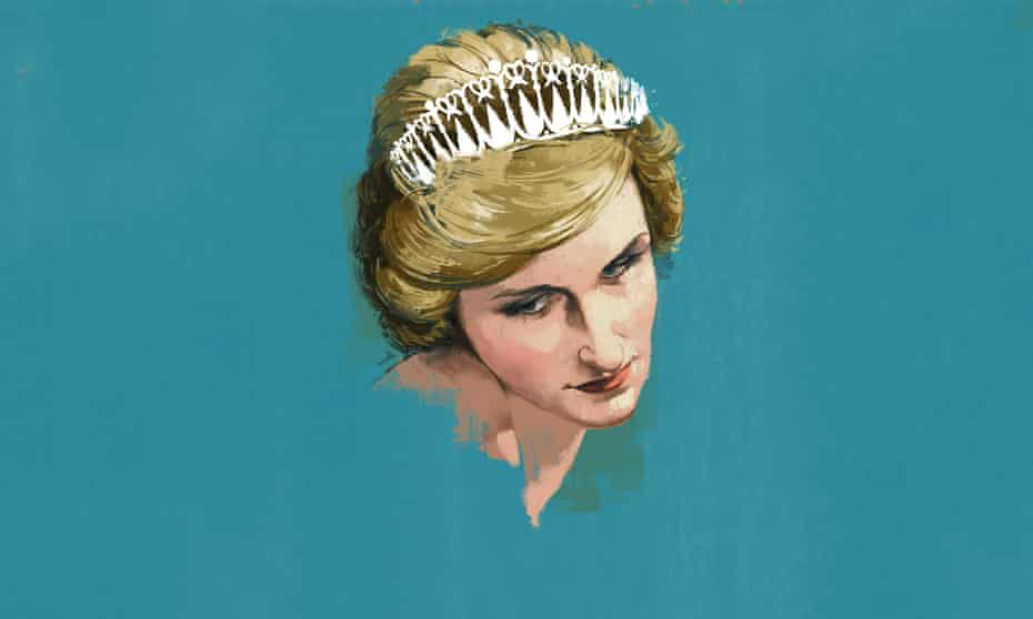 Illustration of Princess Diana