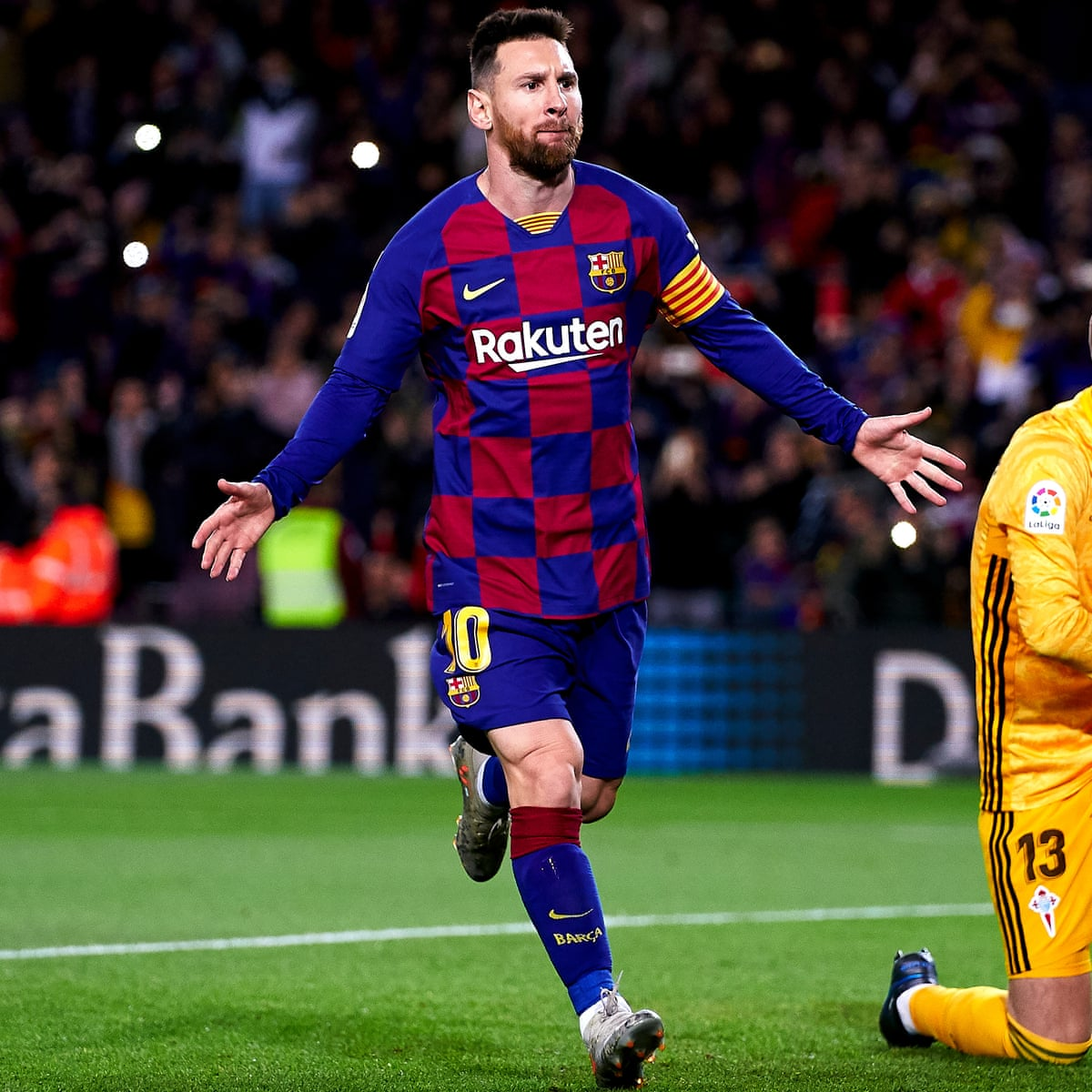 European Roundup Lionel Messi Hat Trick Sends Barcelona Top As Real Chase Football The Guardian