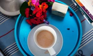 """'Mum doesn't like tea but always says, """"Yes please, half a cup"""" when I offer. I wonder how you make half a cup of tea. So there are always half-drunk cups of tea'"""