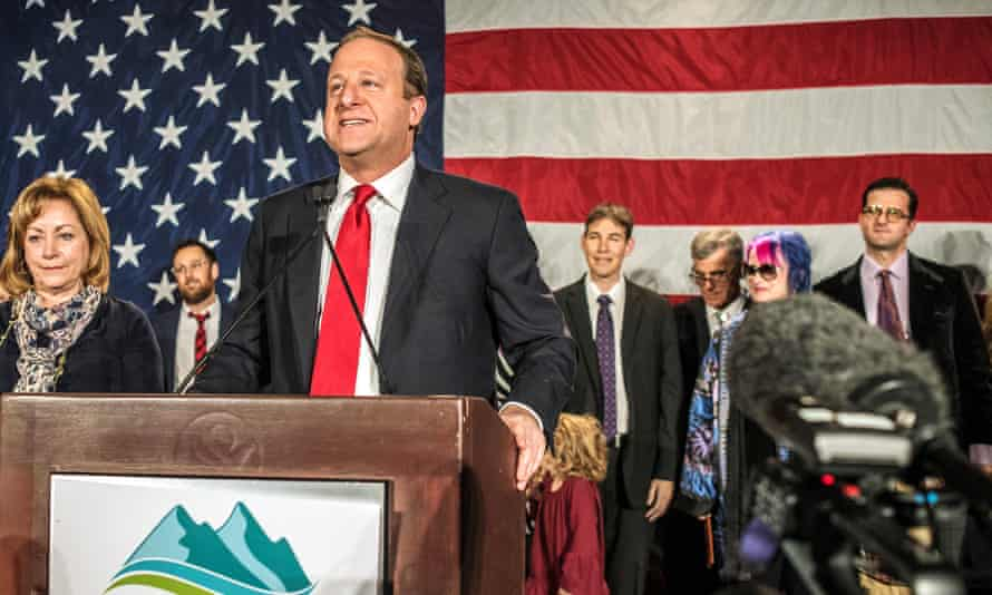 Jared Polis in Denver, Colorado.