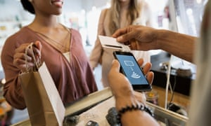 Does contactless make handing over cash too easy?