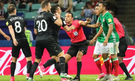 'Really rough and violent': Mexico critical of New Zealand after fiery clash
