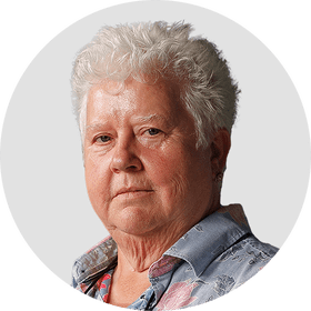 Val McDermid. Circular panelist byline. DO NOT USE FOR ANY OTHER PURPOSE!