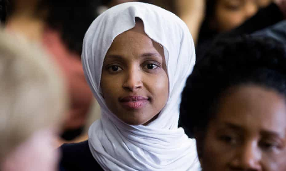 Ilhan Omar has faced hundreds of death threats and emerged as a 'perfect foil' for Trump and Republicans.