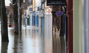 Flooding has blighted the market town of Cockermouth.