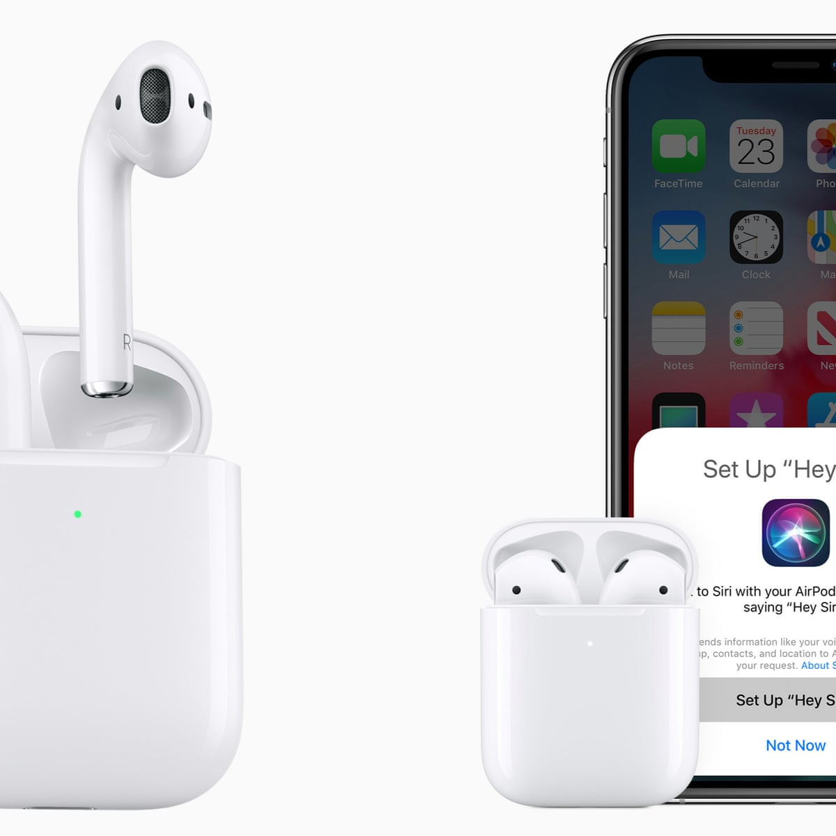 Apple Launches Second Generation Airpods With Wireless Charging