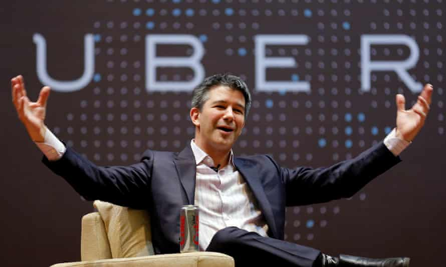 Former Uber chief executive Travis Kalanick