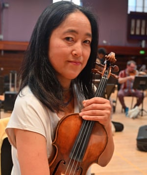 Takane Funatsu, violin