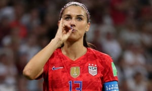 buy online d4488 2c121 Storm in a teacup: Alex Morgan discusses World Cup goal ...