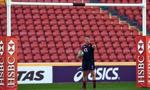 The England captain Dylan Hartley
