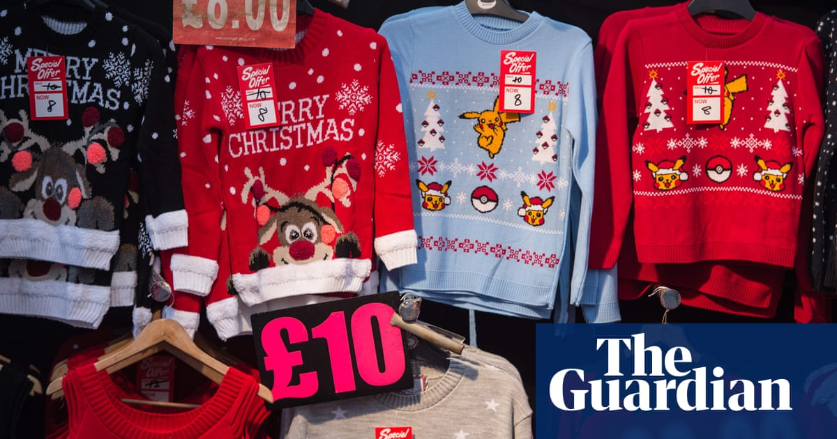 Quarter of Christmas jumpers were worn once and discarded last year ... e27f09de8