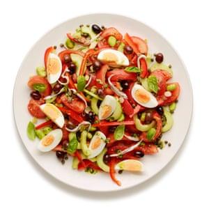 Nice in Nice: Felicity Cloake's salade niçoise.