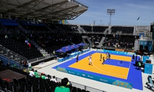 3-on-3 basketball, pictured at the Islamic Solidarity Games in Azerbaijan this year, will be added to the Olympic programme in Tokyo.