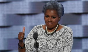 Donna Brazile speaks at the 2016 Democratic national convention in Philadelphia.