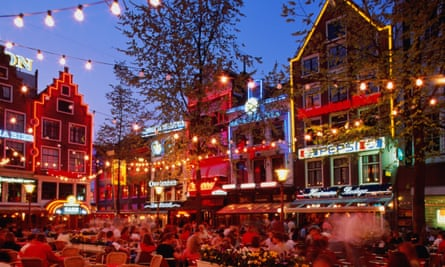 Amsterdam ... a famously 24-hour city where we can locate ''freedom from both labour and social scrutiny''.