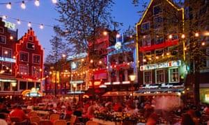 Amsterdam's Leidseplein district