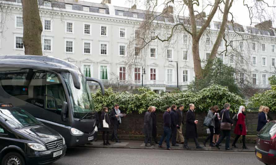 The 'kleptocracy tour' which takes people around properties in London owned by politicians and oligarchs.