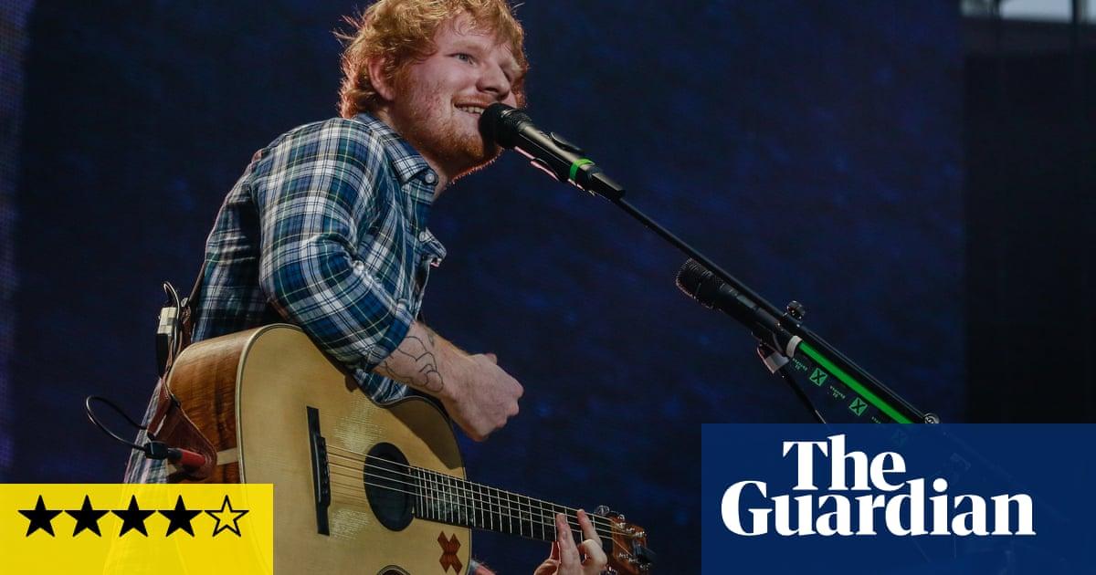 Ed Sheeran review: a singer, an acoustic guitar, an effects pedal – a triumph