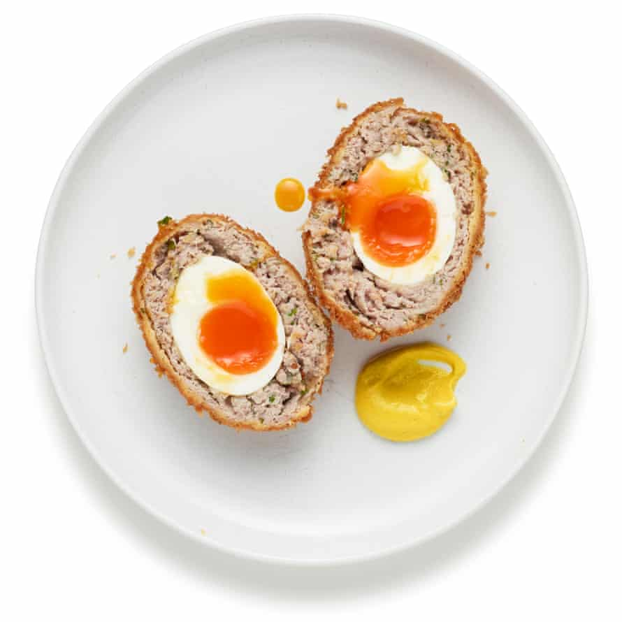 Pocket meat: Felicity Cloake's scotch eggs.