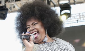 Betty Wright performing in 2017.