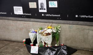 A memorial marks the place where Gyula Remes used to sleep in a Westminster underpass.