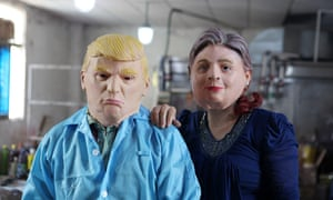 Did you fall for any stories as fake as these Donald Trump and Hillary Clinton masks?