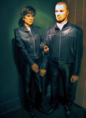 Victoria and David Beckham waxworks Louis Tussauds House of Wax in Great Yarmouth