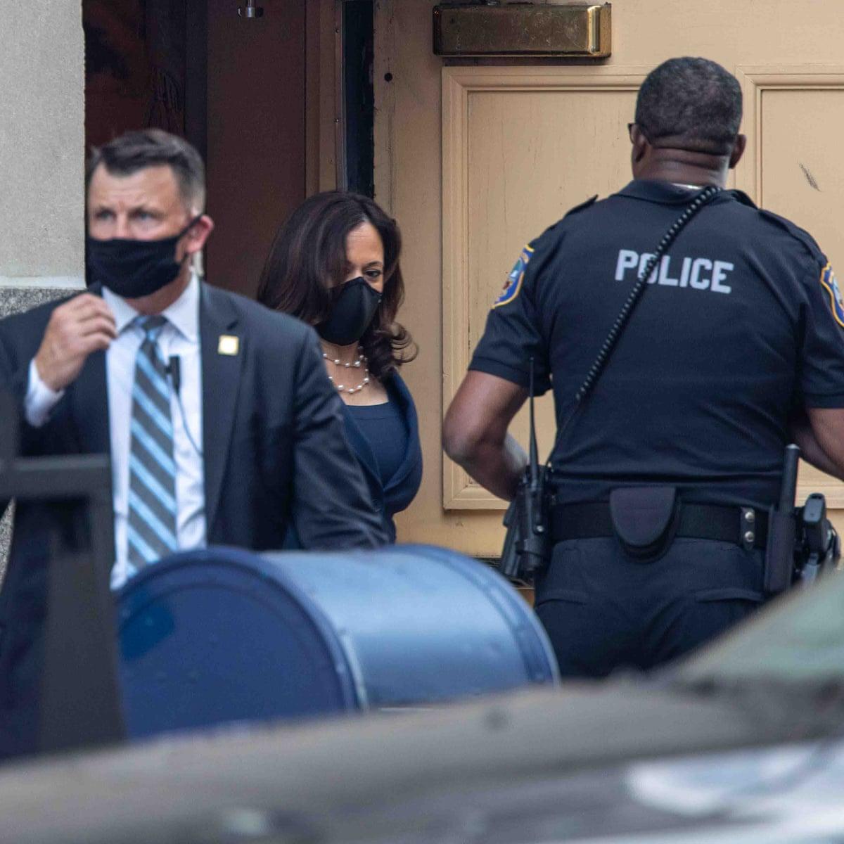 Kamala Harris Reportedly Chooses Apt Secret Service Code Name Pioneer Kamala Harris The Guardian