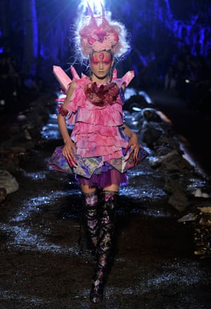 Another look from the label's Renaissance Dinosaur spring/summer 2010 collection. They also collaborated with Melbourne artist Kate Rohde, inspired by her fantastical handmade work.