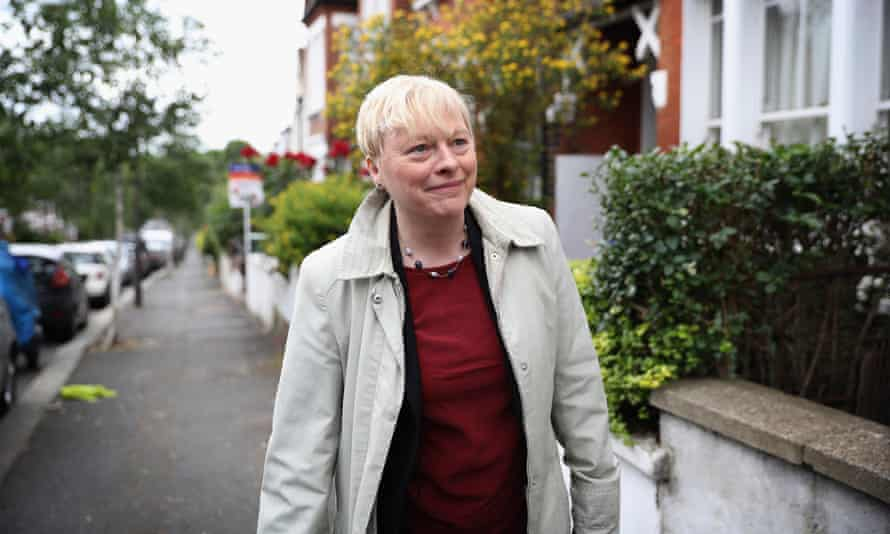 Angela Eagle pulled out of the leadership race in July. She has been subjected to homophobic and misogynist attacks.