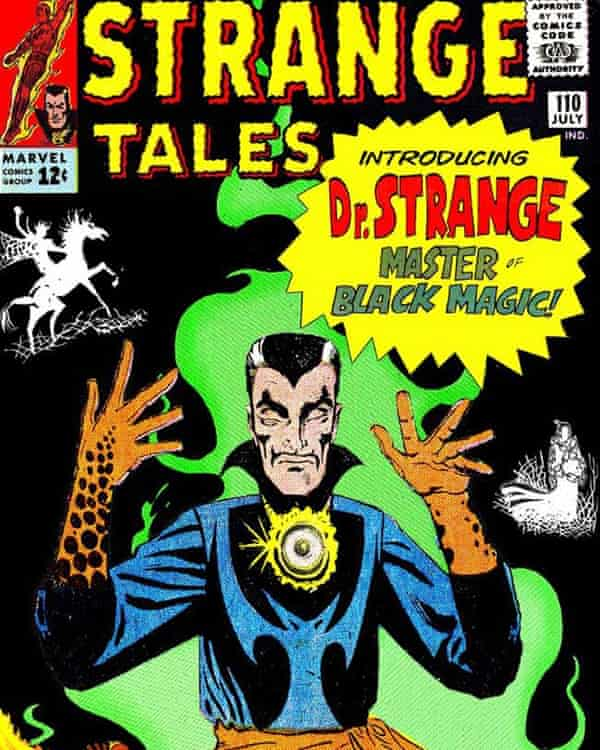 Doctor Strange's greatest battles were fought on a spiritual plane while his human body reposed back in our world.