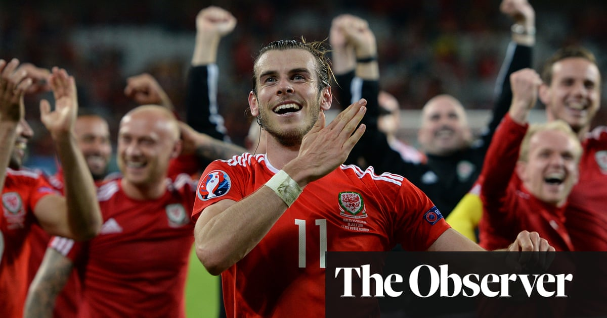 'It was really like a group of mates on a lads' holiday': Wales at Euro 2016