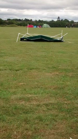 """<strong>Erection problems</strong><br><br>""""Our glorious gazebo - wind and rain in Sussex.""""<br><br>Photograph: <a href=""""https://witness.theguardian.com/user/MollySD"""">MollySD</a><a>/GuardianWitness</a>"""