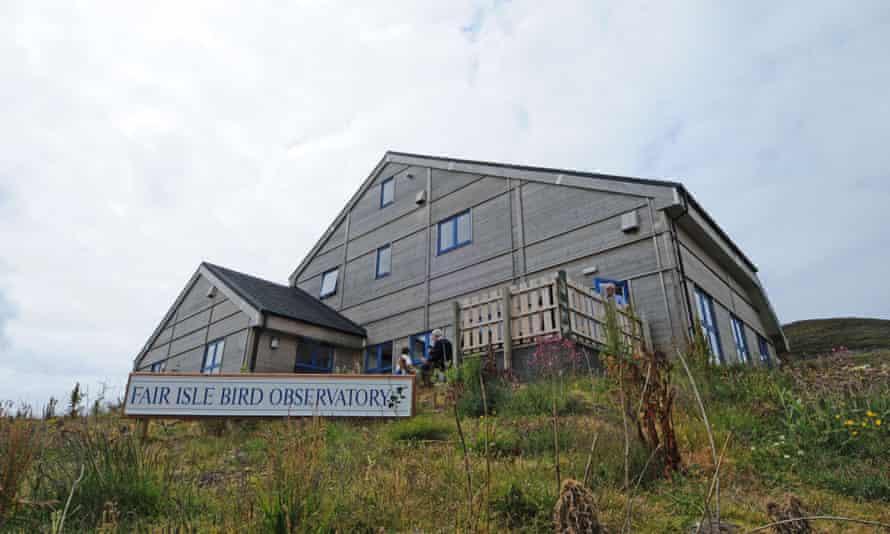 The Fair Isle observatory.