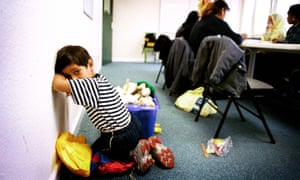 Child in an English lesson at the Refugee Council, Birmingham.