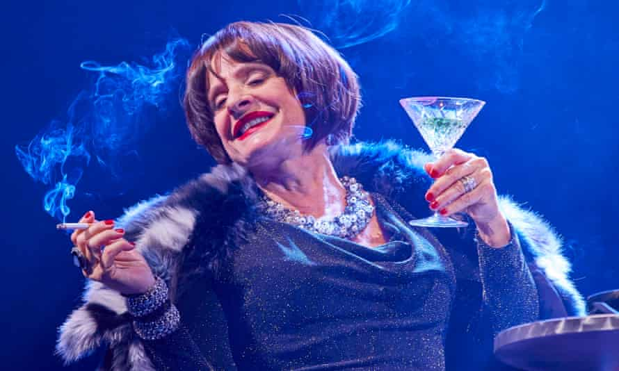 Patti Lupone in Company.