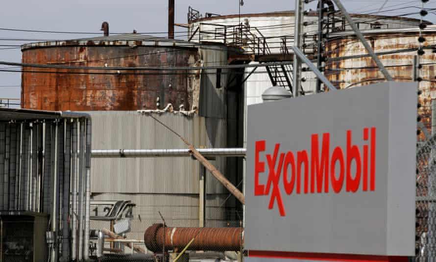 ExxonMobil refinery in Texas
