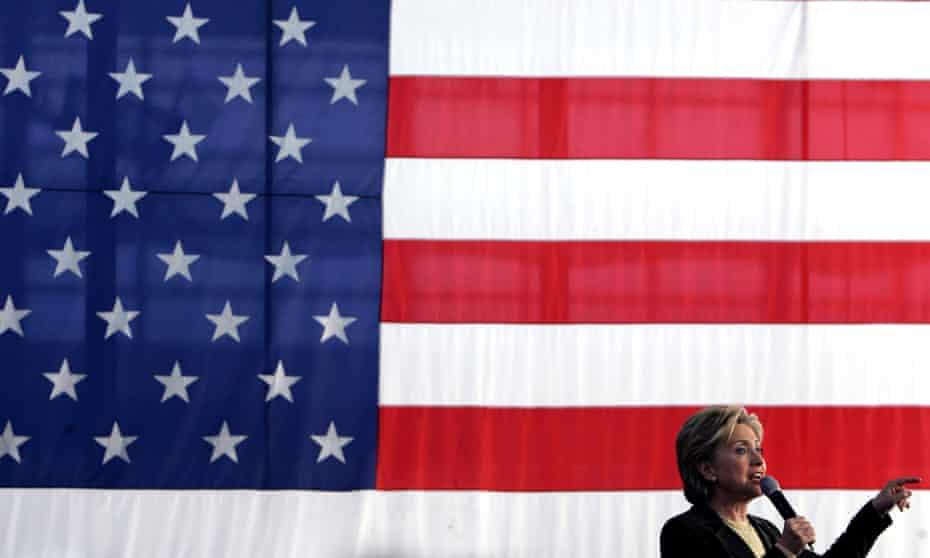 Hillary Clinton at a campaign stop in Cedar Rapids, Iowa.