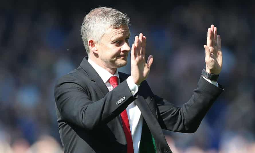 Ole Gunnar Solskjær apologises to Manchester United's fans after last April's 4-0 defeat at Everton. 'That was the lowest I've been,' he says.