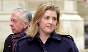 Last year Penny Mordaunt asked army chaplains to advise her on how the legal sanction of gay marriages could be implemented.