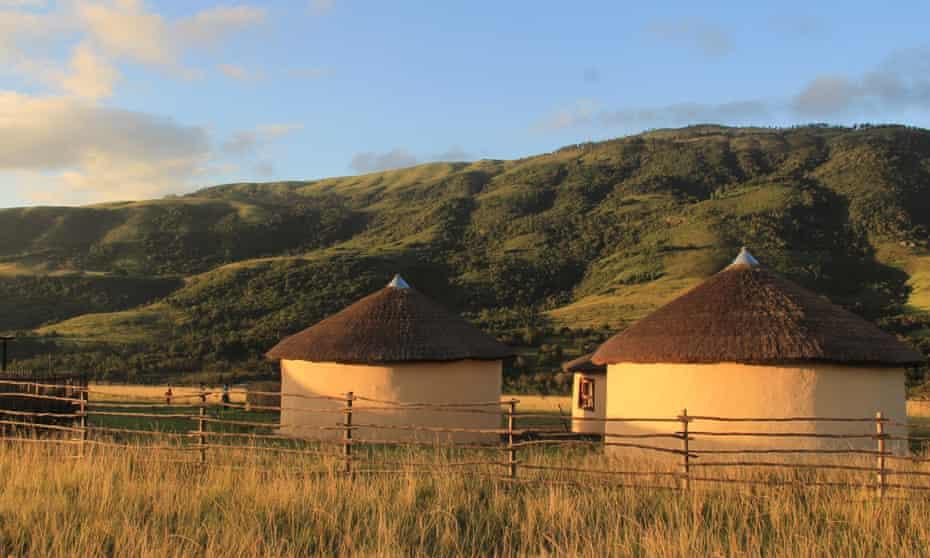 Elundini Backpackers hostel near the Amathole Mountains