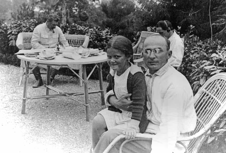 Lavrenti Beria, the head of the secret police, with Stalin's daughter Svetlana. Photo: BBC