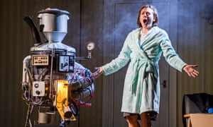 Assertive, lyrical and superbly acted … Mary Bevan in the title role of Coraline.