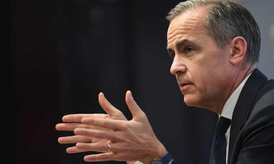 Mark Carney, the Bank of England governor