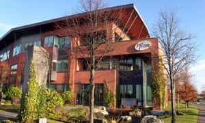 Pfizer's offices in Citywest, Dublin