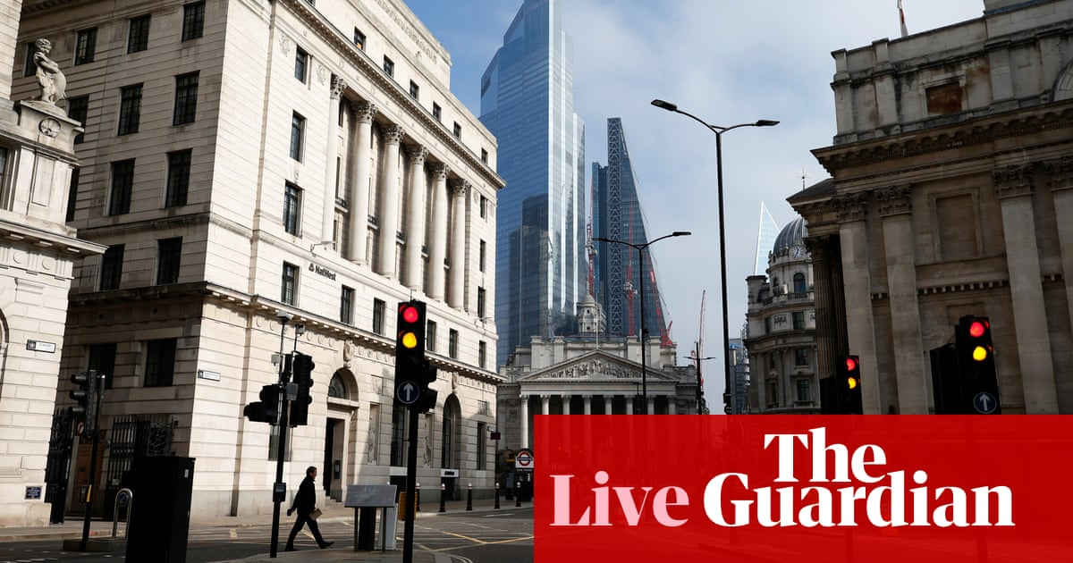 Bond yield worries hit markets again; Deliveroo picks London for float – business live