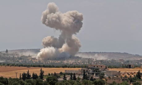 Turkish convoy in Syria hit by airstrikes, Ankara claims