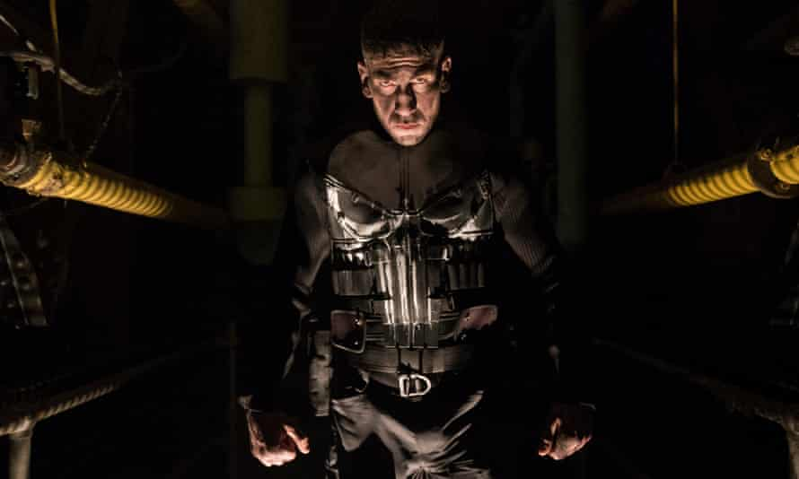 still from the Netflix adaptation of Marvel's The Punisher.